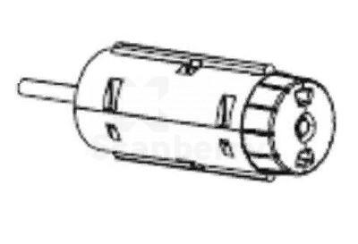 Шпиндель подмотки риббона в сборе для принтеров TSC TTP-245 (98-0130019-20LF)